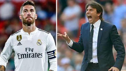 Real Madrid: Antonio Conte rompió su silencio y le respondió a Sergio Ramos