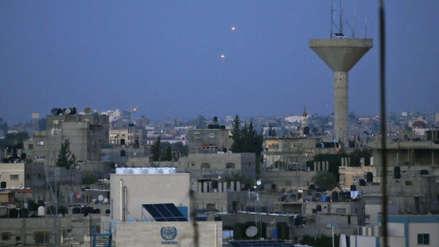 Un civil israelí muerto y otros dos graves por cohetes lanzados desde Gaza