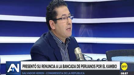 """Heresi criticó el liderazgo de Violeta como vocero: """"PpK es una bancada disfuncional"""""""