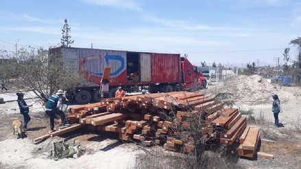 En Arequipa incautan madera valorizada en más de 100 mil soles