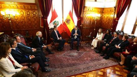 El Rey Felipe de España visitó el Congreso de la República