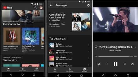 YouTube Premium y YouTube Music ya están disponibles en el Perú