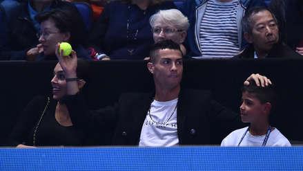 Cristiano Ronaldo: el divertido momento de CR7 en un partido de tenis de Djokovic