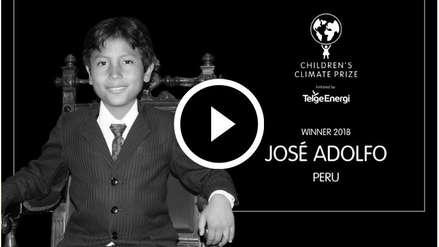 Video | José Quisocala, el niño 'banquero', ganó premio ambiental en Estocolmo