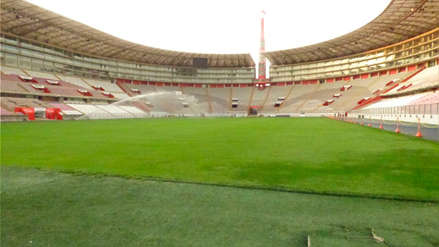 Así luce el campo del Estadio Nacional a pocos días del Perú vs. Ecuador