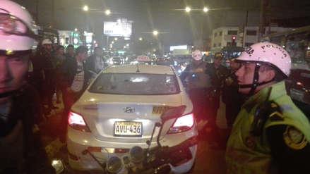 Persecución policial y balacera se produjo en calles de Pueblo Libre