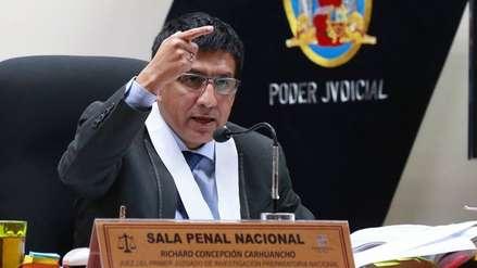 Sala Penal rechaza recusación presentada por Keiko Fujimori contra Richard Concepción Carhuancho