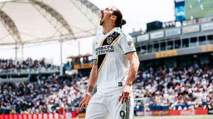 Este gol de Zlatan Ibrahimovic fue elegido como el mejor del año en la MLS