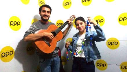 Crean instrumentos musicales con objetos reciclables en Trujillo