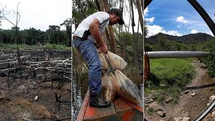 Pueblos de la Amazonía siguen sufriendo los efectos de derrames de petróleo del 2016