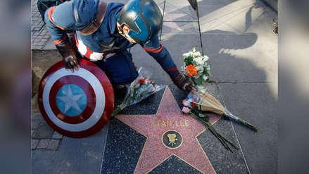 Stan Lee: Fanáticos despiden en Hollywood al padre de los superhéroes de Marvel [FOTOS]