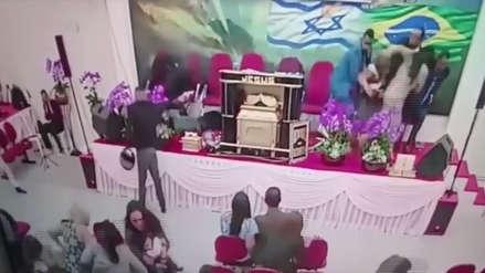 Un pastor evangélico fue baleado en pleno culto en Brasil
