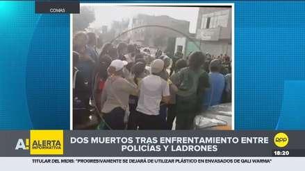 Jefe policial Lima sobre balacera: