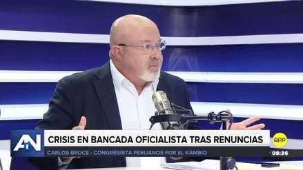 """Carlos Bruce: """"No tengo en agenda renunciar a Peruanos por el Kambio"""""""