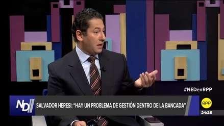 Salvador Heresi: Tres congresistas están pensando renunciar a bancada de PpK