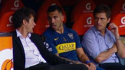 Boca Juniors vs. River Plate: la misteriosa charla de Tévez con Guillermo y Gustavo Barros Schelotto