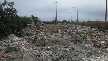 Exigen recoger basura y desmonte en dos sectores de Trujillo