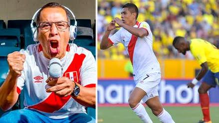 Perú vs. Ecuador: recuerda el emotivo relato de Daniel Peredo en el triunfo en Quito