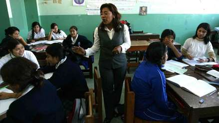 Ministerio de Educación busca eliminar exámenes de admisión para inicial y primer grado