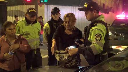 Capturan por quinta vez a delincuente 'La Chucky' tras robar celular en Cercado