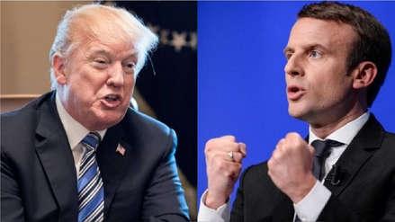 Gobierno de Macron arremetió contra Donald Trump por su falta de