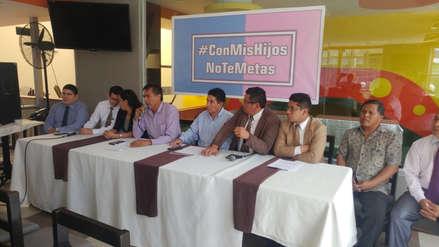Marcha 'Con mis hijos no te metas' espera convocar a más de 50 mil personas en Chiclayo