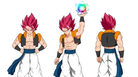 Dragon Ball Super: Broly | Así sería Gogeta como Super Saiyajin Dios