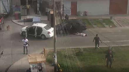 PNP: Abatidos en balacera de Los Olivos tenían antecedentes por robo y violencia