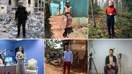 Fotos   El smartphone, compañero indispensable en todo el mundo