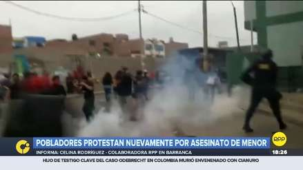 Continúan protestas por violación y asesinato de menor de 10 años  en Barranca