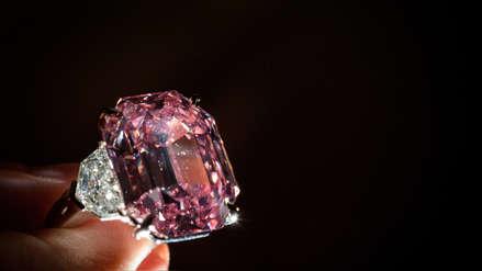 Fotos | El espectacular diamante rosa que se vendió por casi 50 millones de dólares