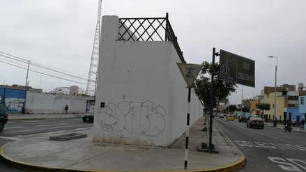 Pintarrajean muralla colonial declarada patrimonio cultural en Trujillo