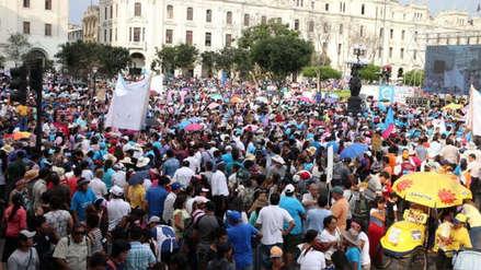 'Con mis hijos no te metas': Colectivo  realizará plantón en la Plaza San Martín este jueves
