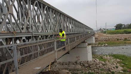 Peligra puente Bailey instalado por Niño costero en Virú