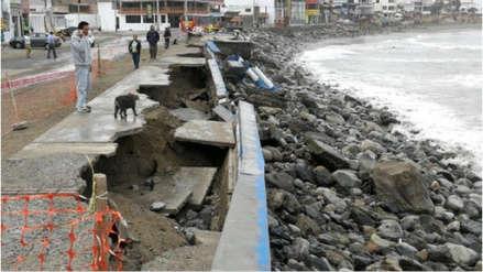 Fuerte oleaje | Consejo regional rechaza declarar en emergencia a Huanchaco