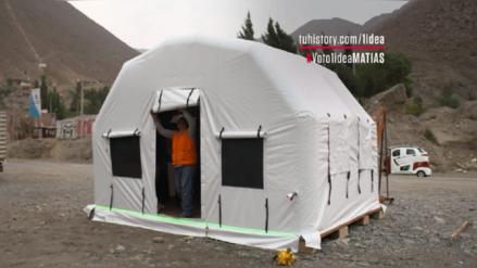 Daniel Rivera: el joven peruano que creó una vivienda portátil para proteger a todas las familias afectadas por un desastre natural