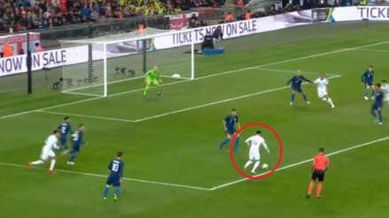 Jesse Lingard anotó un golazo al ángulo en el duelo entre Inglaterra vs. Estados Unidos