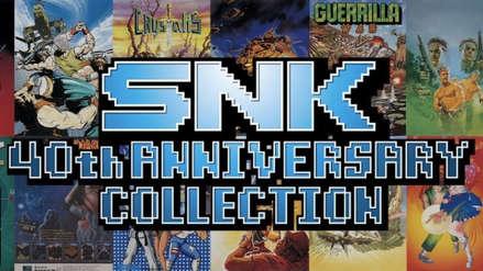 SNK lanzó una colección de sus mejores videojuegos para Nintendo Switch