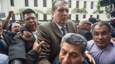 Alan García | Audiencia para evaluar impedimento de salida del país será este sábado