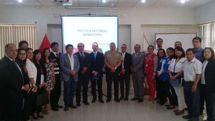 Instalan Mesa de Trabajo para la Gestión Migratoria en Lambayeque