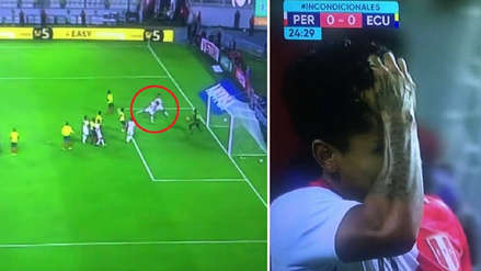 Perú vs. Ecuador: gol de Raúl Ruidíaz fue anulado por posición adelantada