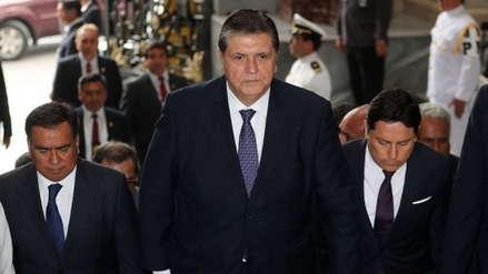 Alan García llegó al Perú para acudir a citación del fiscal José Domingo Pérez