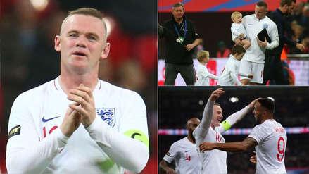 Inglaterra vs. Estados Unidos: Wayne Rooney y su último partido con el combinado inglés en imágenes