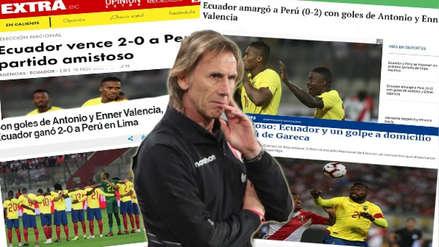 Perú vs. Ecuador: así reaccionó la prensa internacional tras la derrota de la Bicolor
