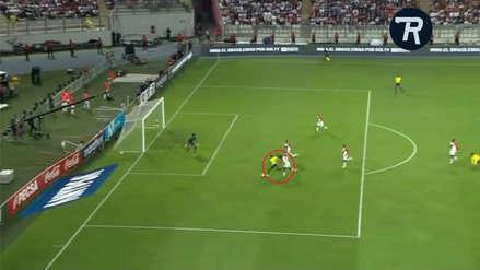 Perú vs. Ecuador: Enner Valencia anotó un gran gol tras superar a Christian Ramos