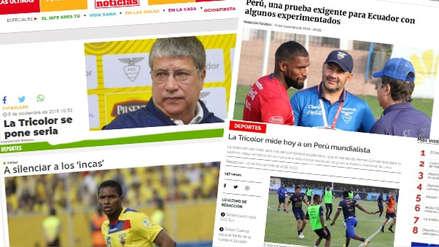 Perú vs. Ecuador: así vive la prensa norteña la previa del partido en el Estadio Nacional
