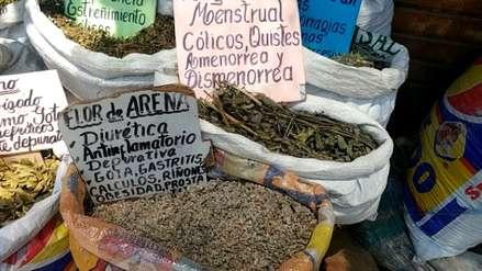 El Modelo de Chiclayo, mercado más grande del país en venta de plantas medicinales