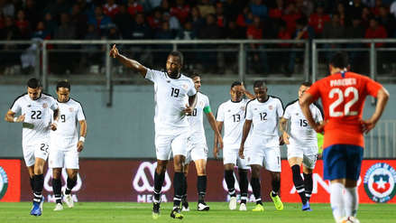 Costa Rica venció de visita a Chile antes de enfrentar a la Selección Peruana