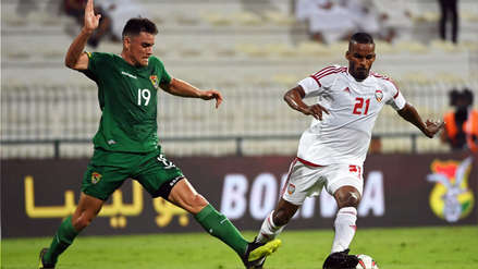 Bolivia y Emiratos Árabes Unidos empataron 0-0 en amistoso por fecha FIFA jugado en Dubái
