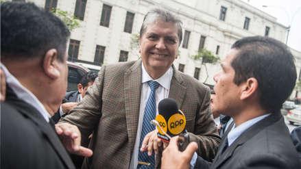 """Alan García: """"El 2012 no era presidente, podía contratar cualquier conferencia"""""""